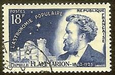"""FRANCE TIMBRE STAMP N° 1057 """" ASTRONOME FLAMMARION 18F """" OBLITERE TB"""