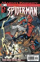 Spider-Man Comic Issue 3 Marvel Knights Modern Age First Print Millar Dodson