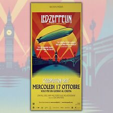 Original Movie Poster Led Zeppelin Live From London 2007 - Size:33x70 CM