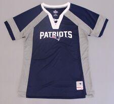 New England Patriots mujer me borrador majestuosa con cuello en V camiseta  azul grande BF5 Nuevo con etiquetas 6567b06da92