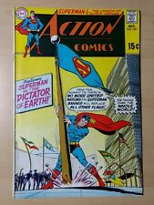 Action Comics #381. DC Superman Supergirl Justice League. F/VF