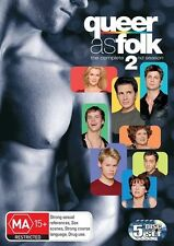 Queer As Folk (U.S.) : Season 2 (DVD, 2007, 5-Disc Set)
