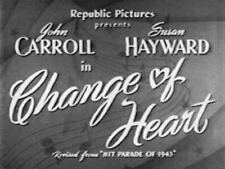 CHANGE OF HEART (AKA Hit Parade of 1941) region free DVD