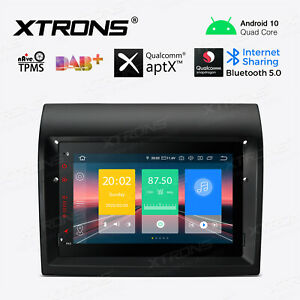 "7"" Android 10.0 Car Radio Stereo GPS Navi Bluetooth Head Unit For Fiat Ducato"