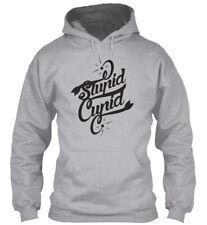 Stupid Cupid - Gildan Hoodie Sweatshirt
