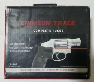 CRIMSON TRACE LG305 LASER GRIPS W/ S&W LOGO FACTORY TAKEOFF, FREE SHIPPING.