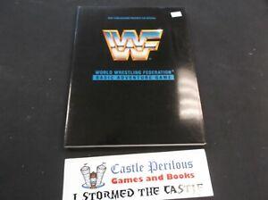 WWF World Wrestling Federation Basic Adventure Game BOOK RPG Role Playing WWE