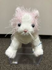 Webkinz Pink And White Cat Brand New With Sealed/Unused Code Tag.