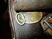 Vintage  Stubben Seigfried Saddle  from 1960's   #1894