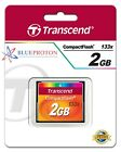Transcend 2GB 133x Speed Compact Flash CF Memory Card (TS2GCF133) NEW