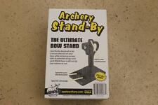 NEW Apple Archery Stand-By -- The Ultimate Bow Holder & Shooting Station Stand!