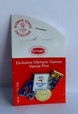 DAY 4 19TH SEPT EXCLUSIVE VENUE PIN WITH TICKET SYDNEY 2000 OLYMPIC GAMES PIN #6