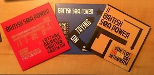 BRITISH SEA POWER 3 RARE PROMO CD'S [LET THE DANCERS.../DON'T LET ./KEEP ON..]