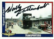 WALLY DALLENBACH SR signed 1991 LEGENDS OF INDY trading card RACING #7