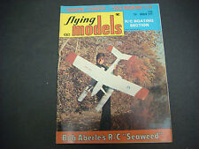 Flying Models Magazine,Radio Controlled,March 1975,Scorpio,Aberle,R/C Boats,Cars