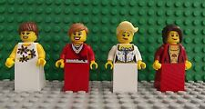 4 BRAND NEW LEGO MINI FIGURE FATA PRINCIPESSE BELLE SIGNORE regalo ragazze 05