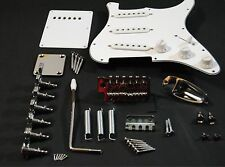 Kit Completo Hardware Guitarra Stratocaster - Full Chrome Hardware ST Guitar Set
