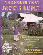 HOUSE THAT JACKIE BUILT Simple guide to building in stone formwork  French New