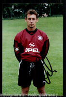 super AK Foto Bernd Dreher Bayern München 03-04(3) Orig. Signiert