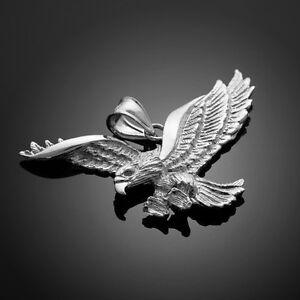 Silver Flying Eagle Pendant