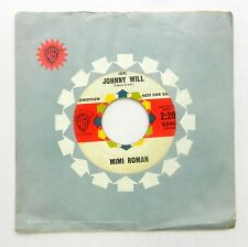 MIMI ROMAN 45 (Or) Johnny Will / Let It Be Me WARNER BROS Promo #T394