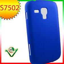 Custodia rigida BLUE per Samsung S7562 Galaxy S Duos 2 S7582 cover aderente
