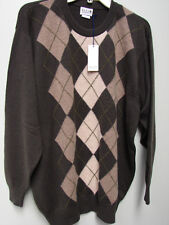 ELGIN 100% CASHMERE SWEATER  SIZE L  NWT MADE IN  SCOTLAND