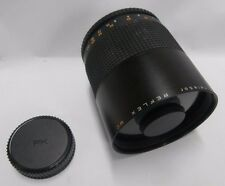 Telesor 500mm f:8 Mirror Reflex MC Macro Lens SLR Pentax PK Mount FREE SHIPPING!