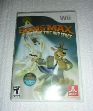 New Sealed Sam & Max Beyond Time and Space Nintendo Wii   S-23