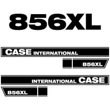 Case International 856 XL tractor decal aufkleber sticker set