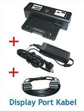 HP Docking HSTNN-I11X mit Netzteil 120W +DisplayPortkabel für HP EliteBook 8540p