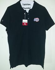 Los Angeles Clippers Black Collared Polo Shirt Top Youth Large New With Tags NWT