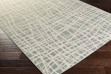 "5x8 (5'2"" x 7'6"") Contemporary Abstract Green Indoor Outdoor Area Rug"