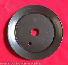 46in Deck Spindle Pulley REP. OEM: MTD: 756-1187, Toro: 112-0358, 6 Point.