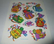 Vintage Hallmark Teacher Reward BackPack School Collectible Sticker Sheet~Unused