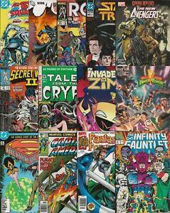 13 ISSUE MIXED COMIC BOOK LOT: Captain America, Infinity Gauntlet, Secret Wars