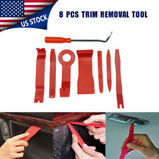 8*Trim Removal Tool Door Interior Panel Molding Upholstery Clip Kit Fastener Car