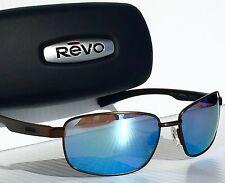 NEW! REVO Shotshell Bronze w Blue water POLARIZED Lens Sunglass 1017 02 BL