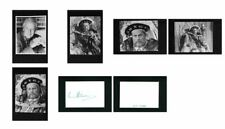 Keith Michell - Signed Autograph and Headshot Photo set - Henry VIII