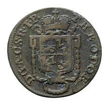MGS CORVEY ABTEI Theodor von Brabeck 2 Pfennig 1787 ss