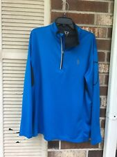 Title Boxing mens 1/4 Zip Pullover 100% POLYESTER size XL
