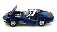 Maisto 1970 Chevrolet Corvette Blue 1/24 Diecast  Car 31202BL
