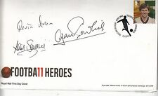 MAN UNITED MULTI SIGNED FIRST DAY COVER.