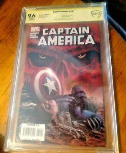 Captain America (2004 5th Series) #31 CBCS GRADED 9.6 MARVEL AUTOGRAPH