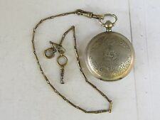 ANTIQUE KEY WIND POCKET WATCH- SYSTEME ROSKOPFMADE FOR THE OTTOMAN EMPIRE MARKET