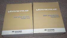 2007 HYUNDAI VERACRUZ SERVICE WORKSHOP SHOP REPAIR MANUAL OEM BOOK VOL 1 & 2 LOT