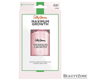SALLY HANSEN MAXIMUM GROWTH Z45107 - POWERFUL PROTECTION FOR SHORT NAILS