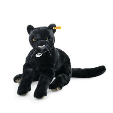 Steiff PANTHER NERO Schlenker 40cm Webpelz Orsacchiotto 30 ° C Regalo Nuovo 084072