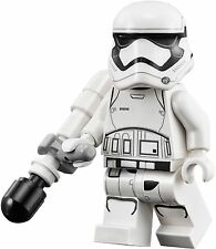 LEGO STAR WARS 75139 MINIFIGURE - FIRST ORDER STORMTROOPER WITH BATON - NEW
