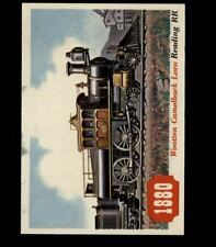 1955 TOPPS RAILS AND SAILS #74 WOOTTEN CAMELBACK LOCO *R1080